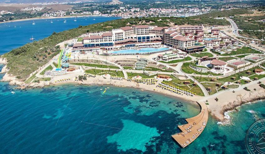 euphoria aegean resort and spa kusadasi aukstas