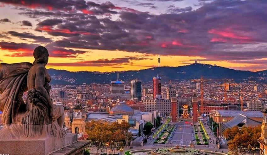 1920x1080 evening in barcelona 2