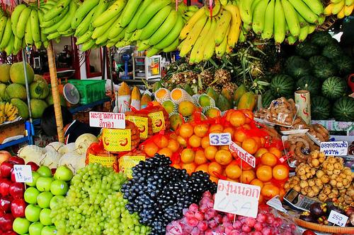 pattaya fruits