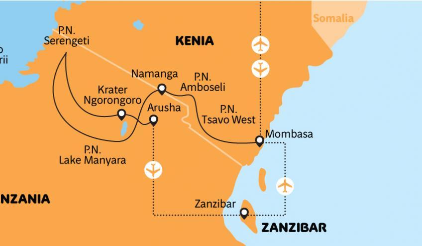 kenia tanzania i zanzibar safari z wypoczynkiem 266 78725 97361 542x452