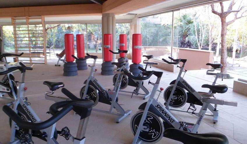ITCACACIA CAMP Fitness room