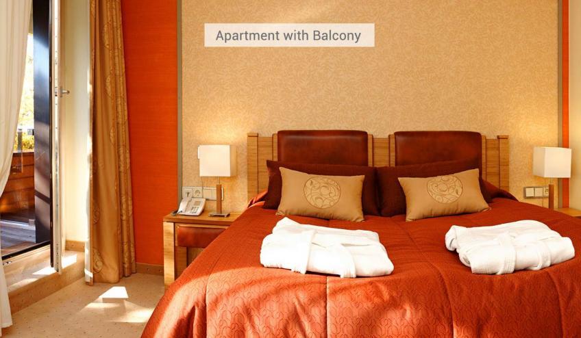 LTUGABIJA PLQ 03 Apartment with Balcony Apartamentas su balkonu miegamasis